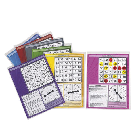 Multi Spin Multiplication Game