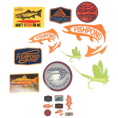 Fishpond Freshwater Sticker Bundle
