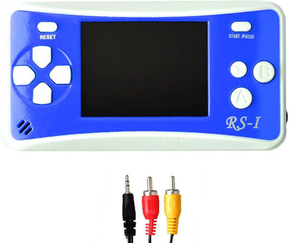 "Gam3Gear 3 X Aaa Built-In 152 Retro Classic Games 2.5"" Lcd Handheld Game Console With Speaker Blue/White"