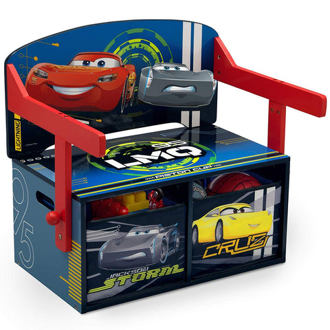 Delta Children Kids Activity Bench, Disney/Pixar Cars