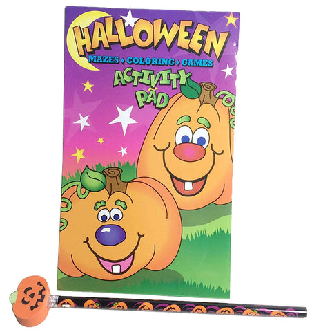 Happy Halloween Activity Pad And Pencil Set