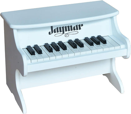 Jaymar 25 Key Table Top Piano (White)