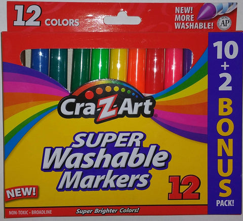 Super Washable Markers