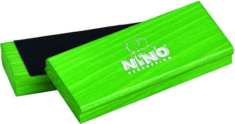 Nino Percussion Nino940Gr Wood Sand Block Pair, Green