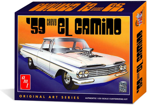 Amt 1058/12 1/25 1959 Chevy El Camino Original Art Series