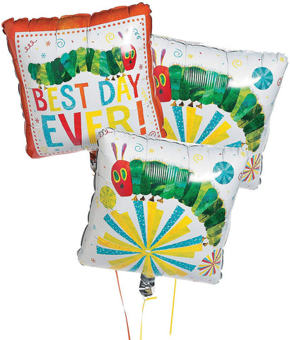 Eric Carle'S The Very Hungry Caterpillar Mylar Balloons