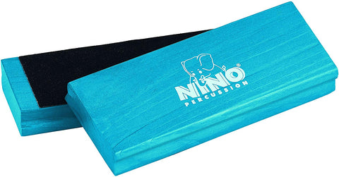 Nino Percussion Nino940B Wood Sand Block Pair, Blue