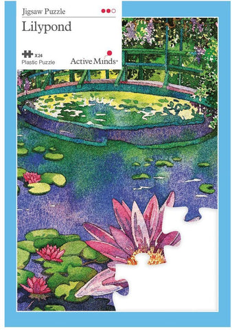 Active Minds 24 Piece Lilypond Jigsaw Puzzle | Specialist Alzheimer'S/Dementia Activities & Games