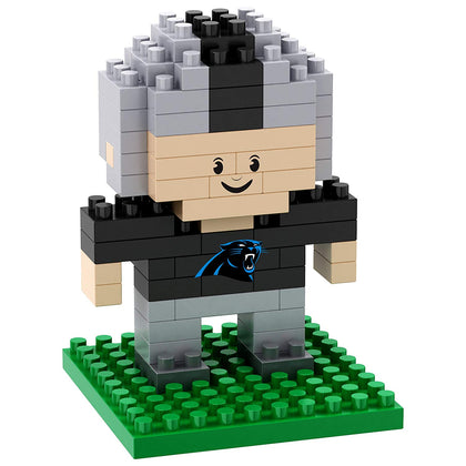 Nfl Carolina Panthers 3D Mini Player Construction Puzzle