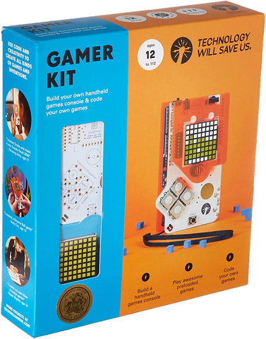 Tech Will Save Us, Gamer Kit (Unsoldered) | Educational Stem Toy, Ages 12 And Up