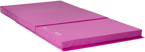 Z Athletic Landing Crash Mat Open Cell For Gymnastics, Tumbling, Martial Arts (Pink, 4Ft X 8Ft X 4In)