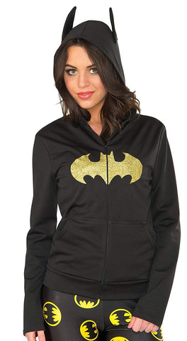 Rubie'S Costume Co Women'S Hoodie, Batgirl, Medium/Large