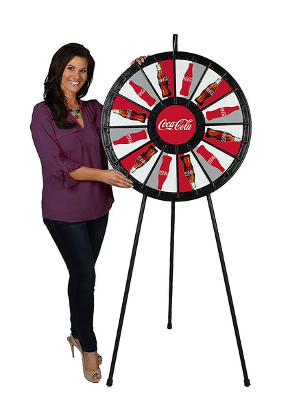 12 To 24 Slot Floor Stand Prize Wheel (31 Inch Diameter)
