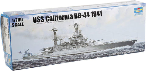 Trumpeter Uss California Bb-44 1941 Model Kit