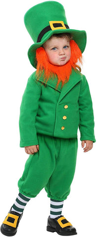 Toddler Wee Little Leprechaun Costume 4T Kelly Green