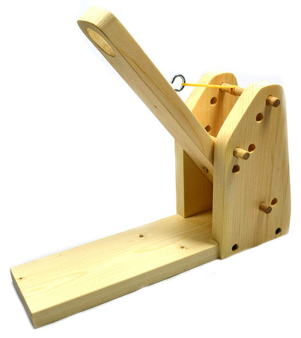 "Eisco Garage Physics Catapult - Build Yourself - Premium 3/4"" Pine, Comes With Everything You Need - Made In The Us"
