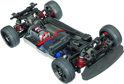 Traxxas Automobile Electric Awd Remote Control 4-Tec 2.0 Race Car Chassis With Tq 2.4Ghz Radio, Size 1/10