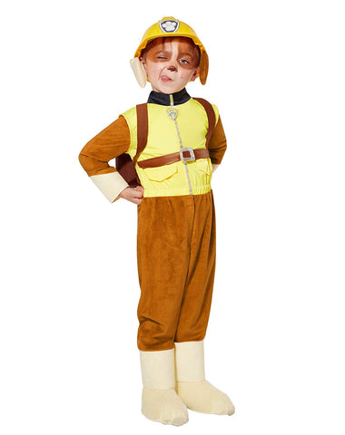 Paw Patrol Costume For Toddlers  Rubble | Officially Licensed Yellow