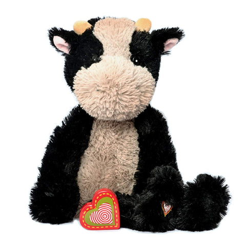 My Baby'S Heartbeat Bear - Vintage Stuffed Cow With A 20 Second Voice/Sound Recorder Keeps Your Baby'S Ultrasound Heartbeat Safe! - Vintage Cow