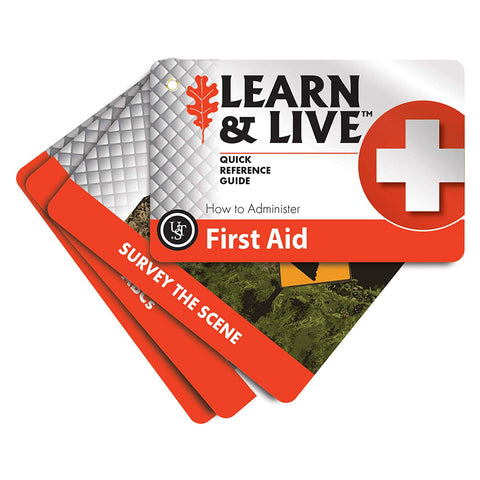 Ust Learn & Live Educational Card Set, First Aid