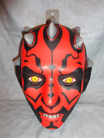 Darth Maul Pvc Mask Kid Size Rubies Halloween Dress Up Star Wars