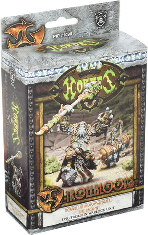 Privateer Press Hordes Troll Bloods Hoarluk Doomshaper Dire Prophet Kit
