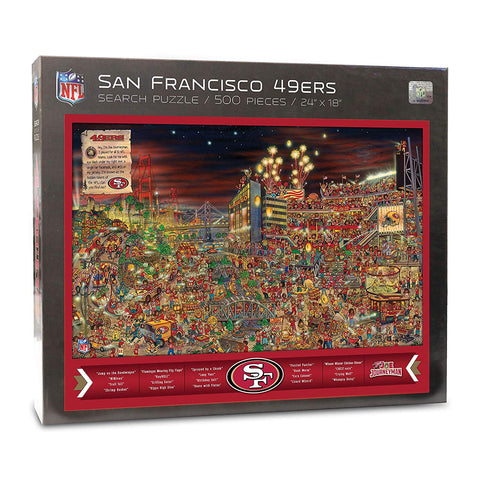Nfl San Francisco 49Ers Joe Journeyman Puzzle - 500-Piece