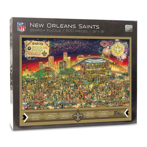 Nfl New Orleans Saints Joe Journeyman Puzzle - 500-Piece