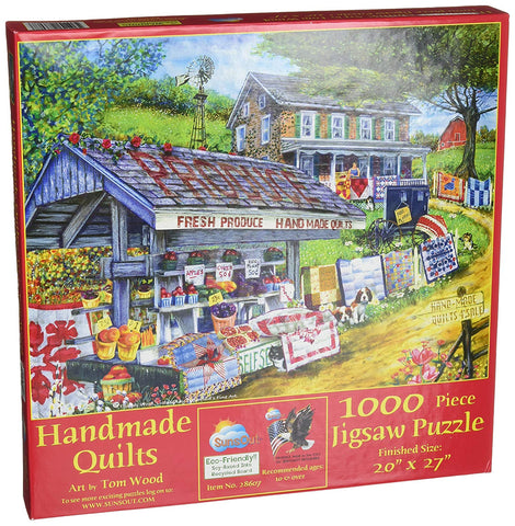 Sunsout Handmade Quilts 1000Pc