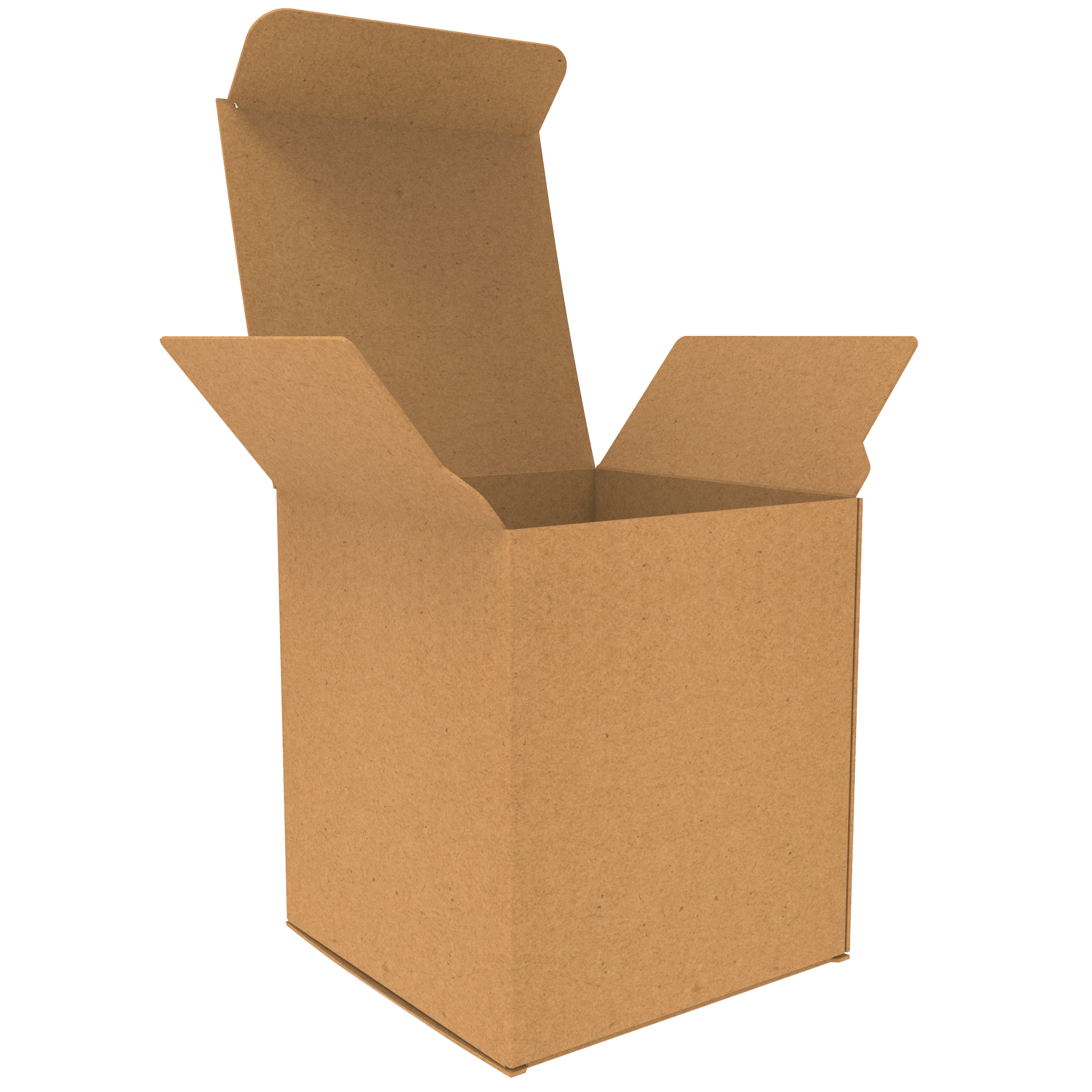 3oz Straight Tuck End Kraft Paperboard Box