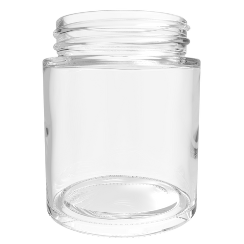 Straight Sided | 4 Ounce Glass Jar