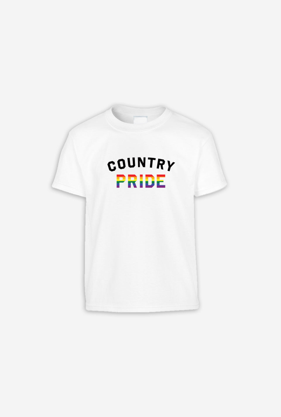 Country Pride Youth T-Shirt - White