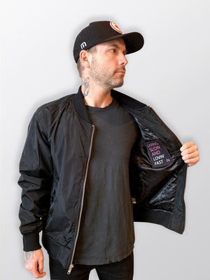 Dallas Smith Bomber Jacket – Black