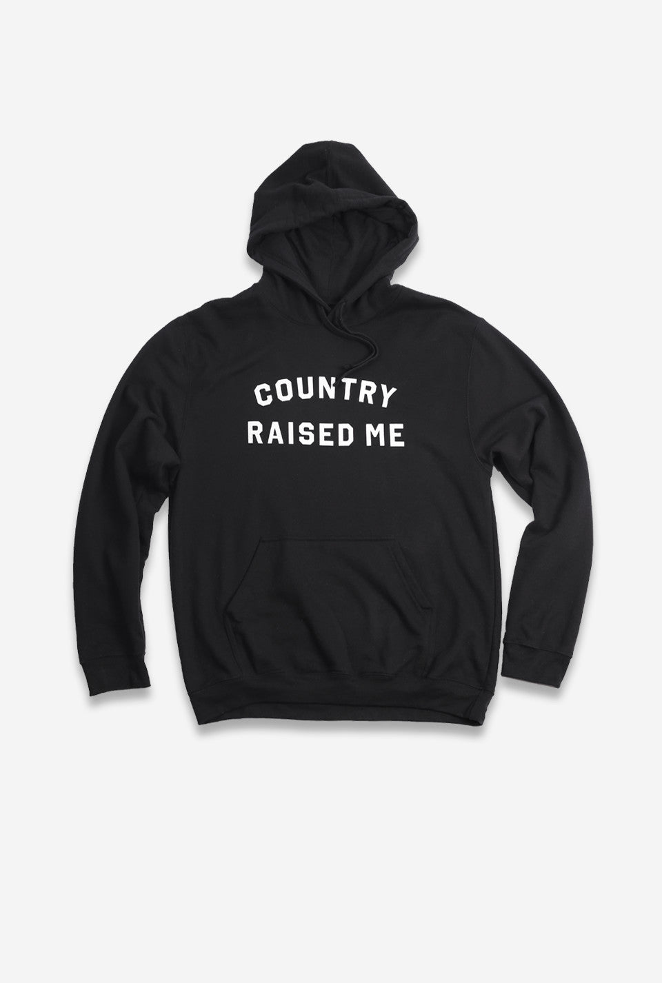 Country Raised Me Hoodie - Black