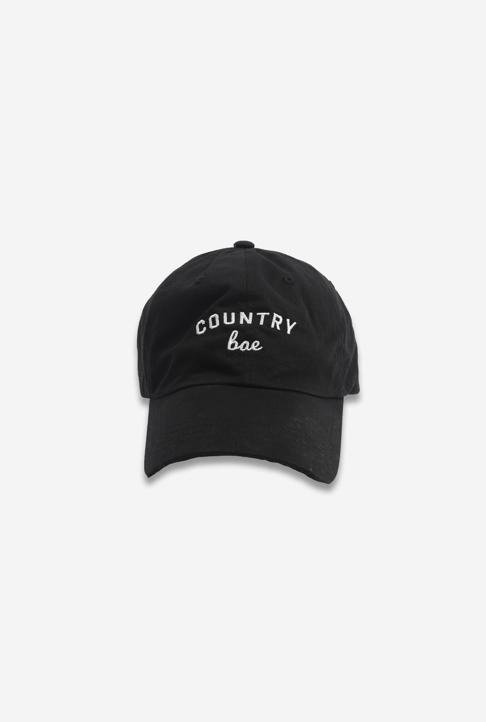 Country Bae Cap - Black