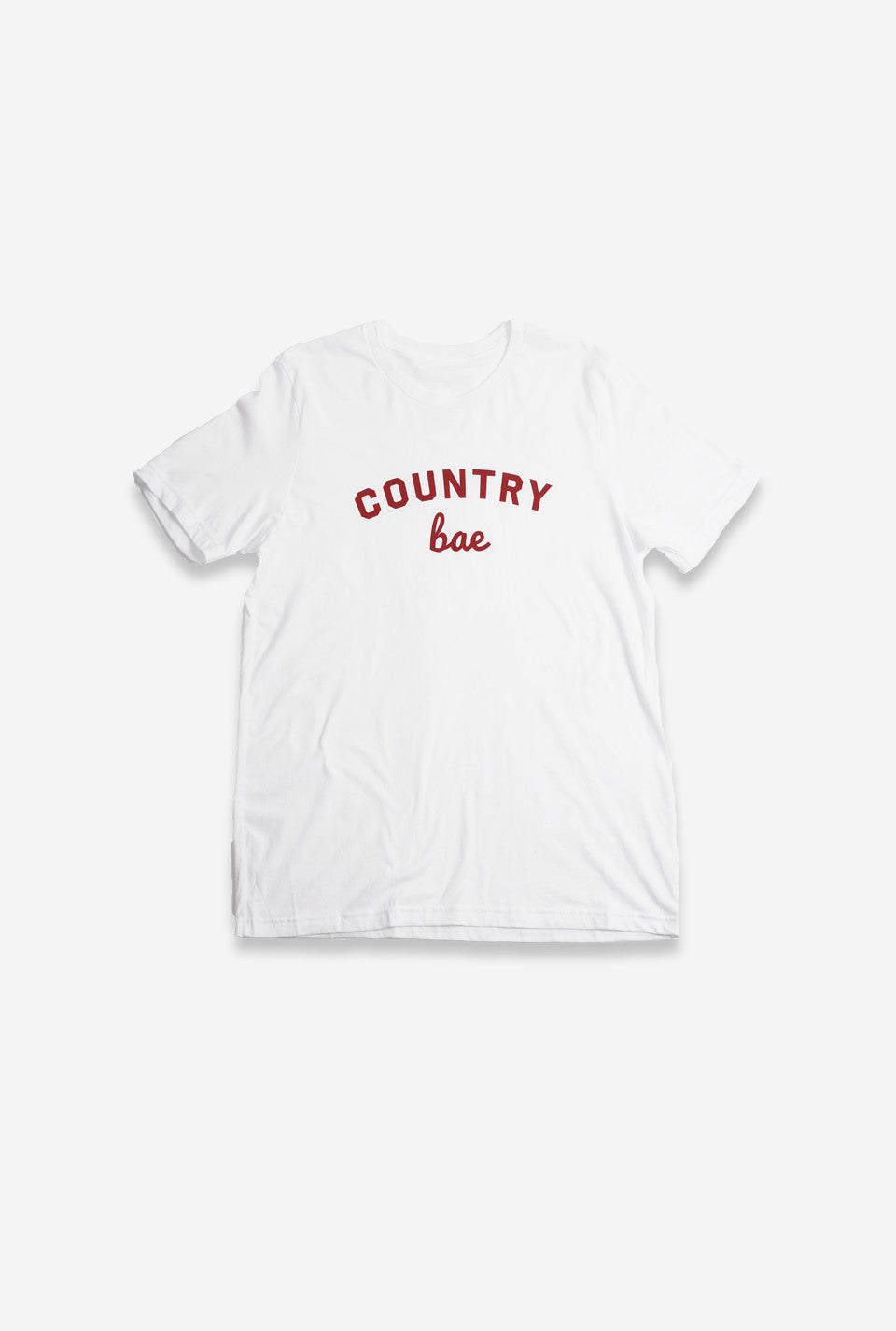 Country Bae T-Shirt - White