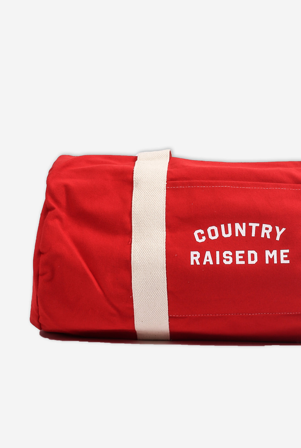 Country Raised Me Overnight Duffle
