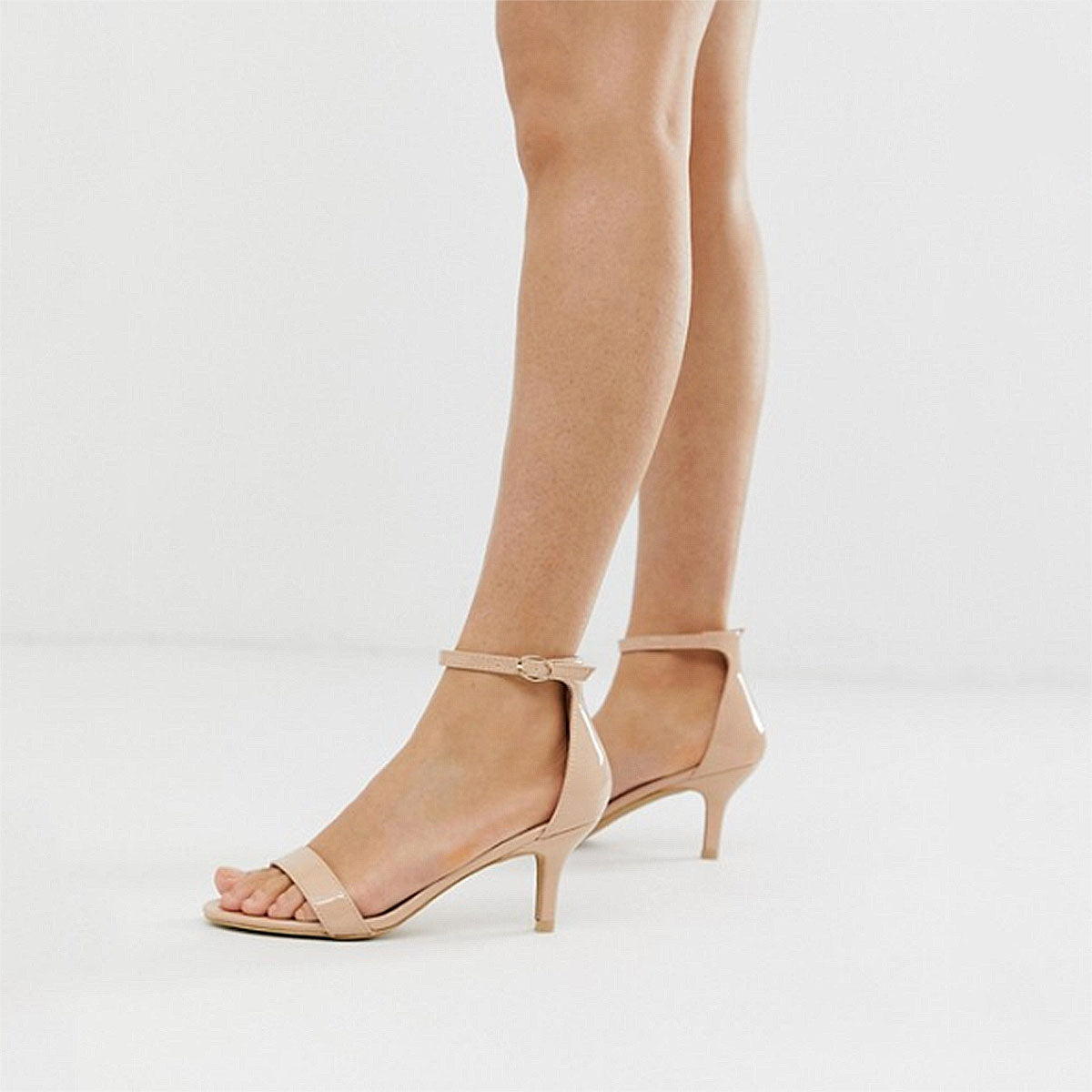 world-wide selection of competitive price cheap price The Karina Beige Nude Kitten Heel Sandals