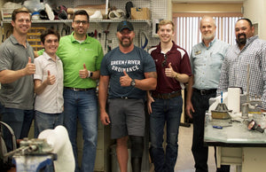 Essentium Materials and TriFusion Devices Partner to Make a Prosthetic Leg for Capt. Chad Fleming