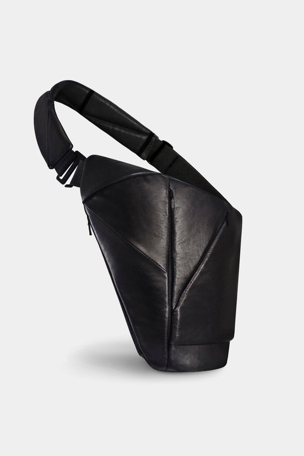 Genuine Leather Baggizmo Bag - Black