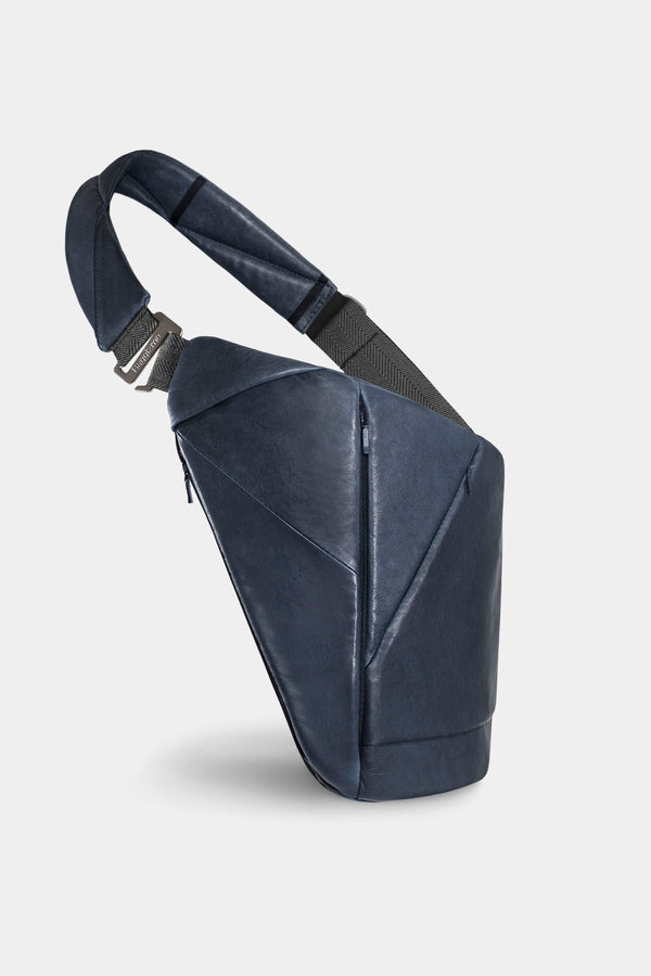 Genuine Leather Baggizmo Bag - Blue