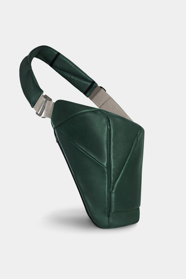 Genuine Leather Baggizmo Bag - Green