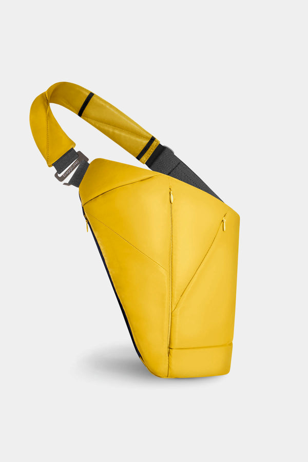 Genuine Leather Baggizmo Bag - Yellow