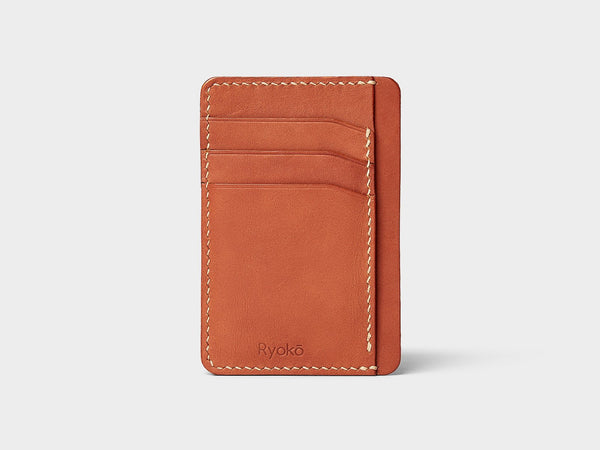 JAVA Wallet - Tan & Brown
