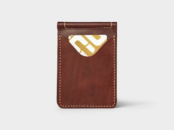 JONES Clip Wallet - Choco Brown