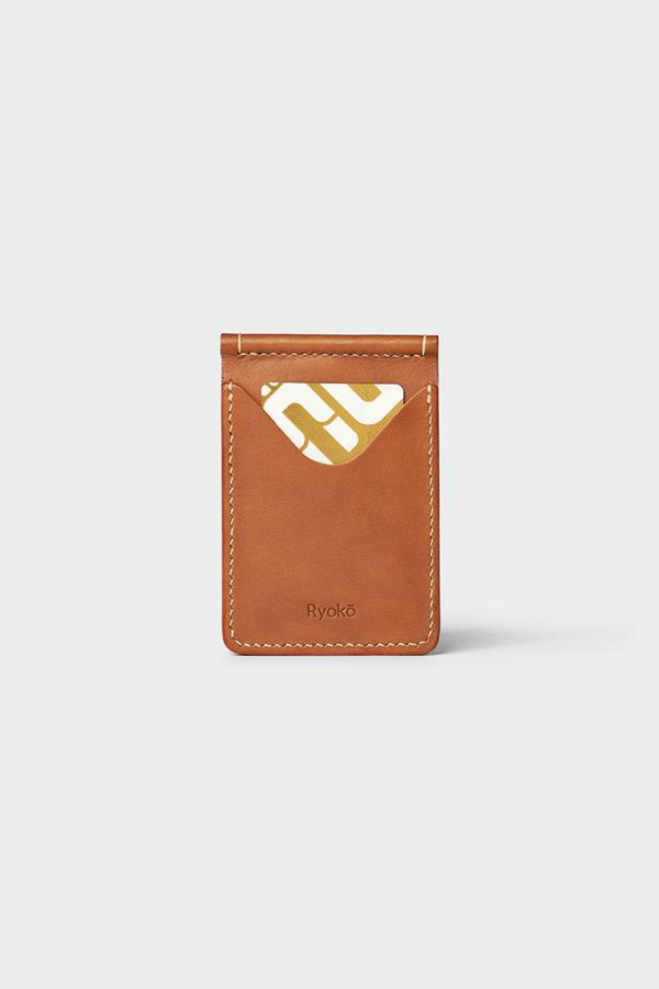 JONES Clip Wallet - Tan