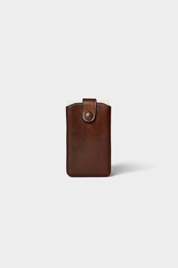 SIGNATURE Card Case - Coffee