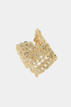 Timothea Cuff in Lace Crochet