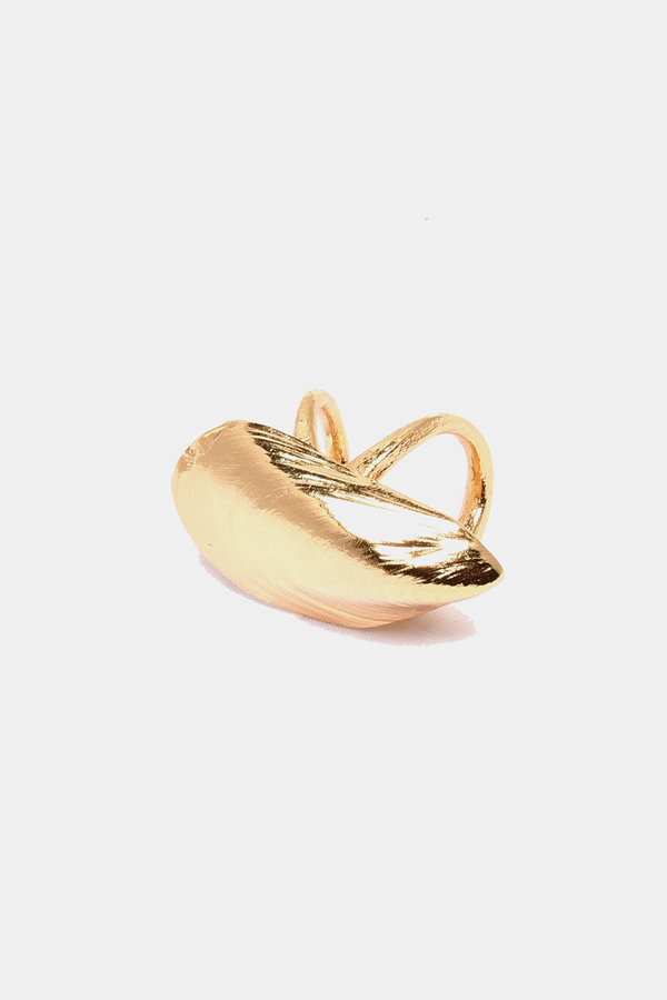 Mussel Double Base Ring