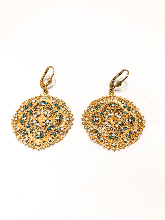 French Lace Earrings